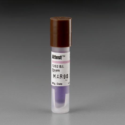 Биологические индикаторы 3М™ Attest™ для контроля процесса паровой стерилизации 1262