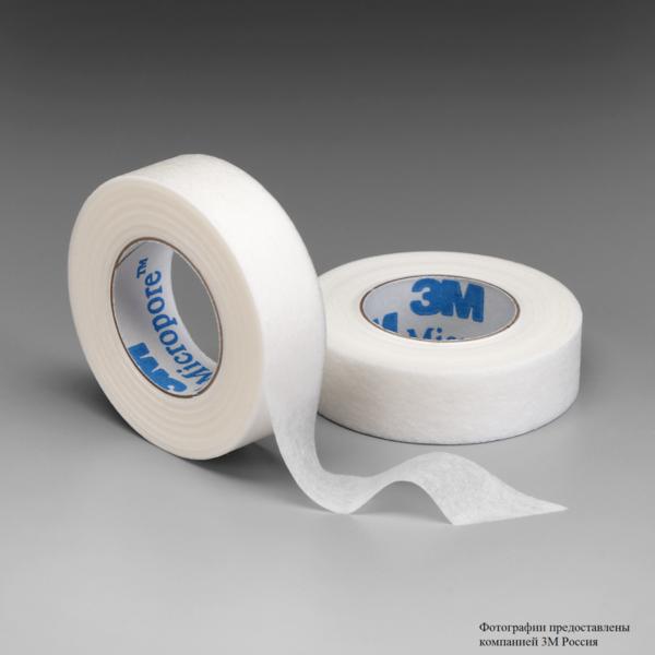 Пластырь рулонный, гипоаллергенный, хирургический 3М™ Micropore™ (Микропор) 1530-0