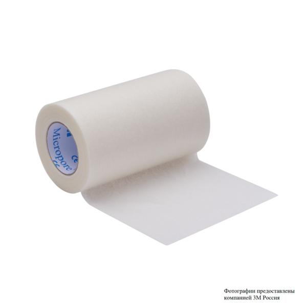 Пластырь рулонный, гипоаллергенный, хирургический 3М™ Micropore™ (Микропор) 1530-3
