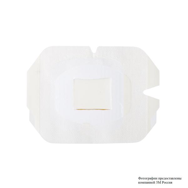 Пленочная прозрачная наклейка для фиксации катетеров с хлоргексидином 3М™ TEGADERM ® CHG (Тегадерм CHG) 1658r
