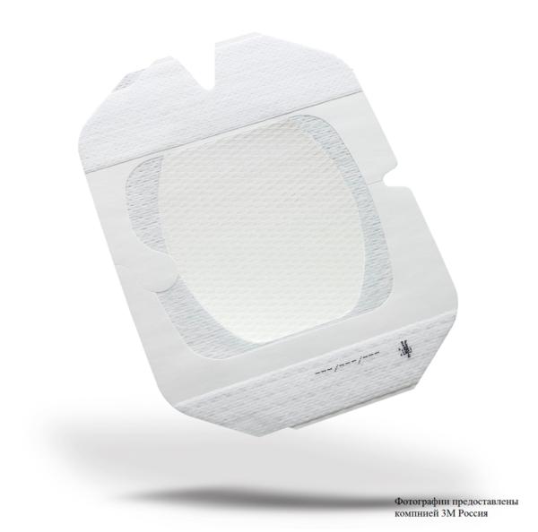 Улучшенная пленочная прозрачная наклейка 3М™ Tegaderm® I.V. Advanced (Тегадерм Айви Адванс) 1688