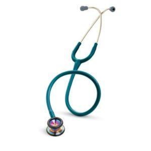 3М™ Littmann® (Литманн) Classic II Pediatric, цвет трубки морская волна, акустическая головка радужная, 71 см 2153
