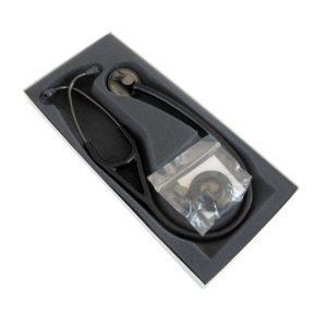 3М™ Littmann® (Литманн) Master Cardiology®, черная трубка, дымчатая акустическая головка, черное оголовье, 69 см 2176