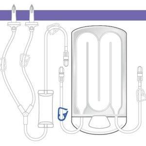 Кассета ирригационная 3М™ Ranger™ с воздушным клапаном. Модель 24760