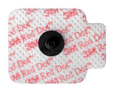Электроды 3M™ Red Dot™ (Ред Дот) для мониторинга на мягкой тканевой основе с возможностью однократной смены места прикрепления, рентгенопрозрачные 2670-5