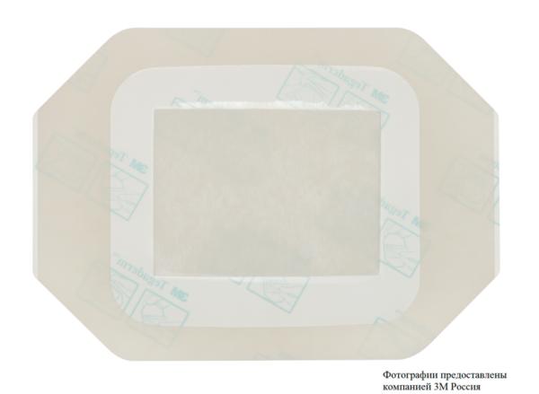 Пленочная прозрачная повязка 3М™ Tegaderm ® + Pad (Тегадерм плюс Пад) 3586