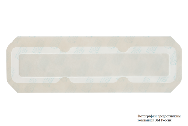 Пленочная прозрачная повязка 3М™ Tegaderm® + Pad (Тегадерм плюс Пад) 3593