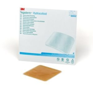 Гидроколлоидная повязка 3M™ Tegaderm™ Hydrocolloid (Тегадерм Гидроколлоид) 90002