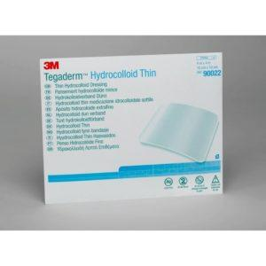 Тонкая гидроколлоидная повязка 3M™ Tegaderm™ Hydrocolloid Thin (Тегадерм Гидроколлоид тонкий) 90022