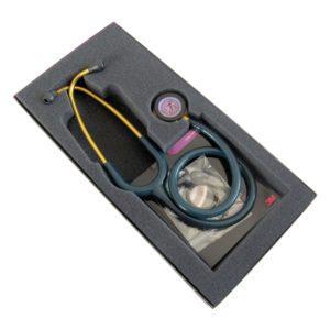 Littmann Classic III, цвет трубки морская волна, 69 см, акустическая головка цвета радуги, 5807