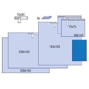 Комплект педиатрический, 7 шт/кор, 2 кор/ящ, 9001