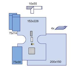 Комплект урологический для ТУР (в т.ч. для цистоскопии) с фильтром, 6 шт/кор, 2 кор/ящ, 9005