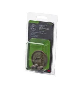 40021 Kit Новинка ! Набор запасных частей для стетоскопа Littmann Lightweight S.E. (малые ушные наконечники, диафрагма, обод) , цвет светло-коричневый