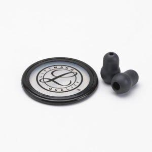 40022 Новинка ! Набор запасных частей для стетоскопа Littmann Master Classic II (малые ушные наконечники, диафрагма), цвет черный