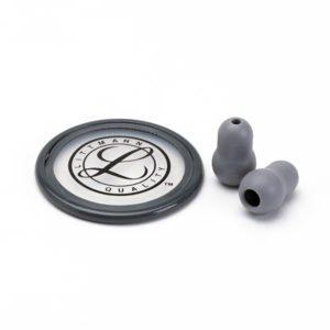 40023 Новинка ! Набор запасных частей для стетоскопа Littmann Master Classic II (малые ушные наконечники, диафрагма), цвет серый
