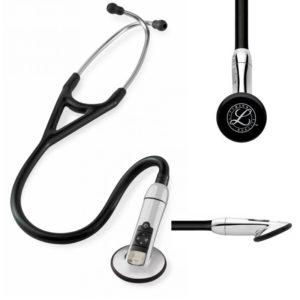 3М™ Littmann® (Литманн) Electronic Stetoscope Model 3200 с функцией Bluethooth, черная трубка, 70 см 3200BK27