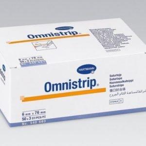 Омнистрип (Omnistrip®) - Гипоалл. полоски на опер. швы (стер. по 3 шт) 6 х 76 мм; 150 шт.