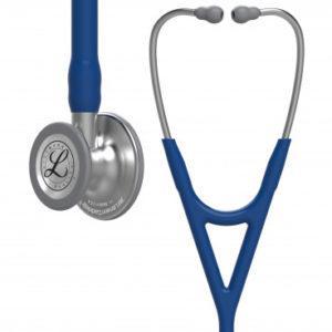 Littmann® Cardiology IV, темно-синяя трубка, 69 см, стальная акустическая головка