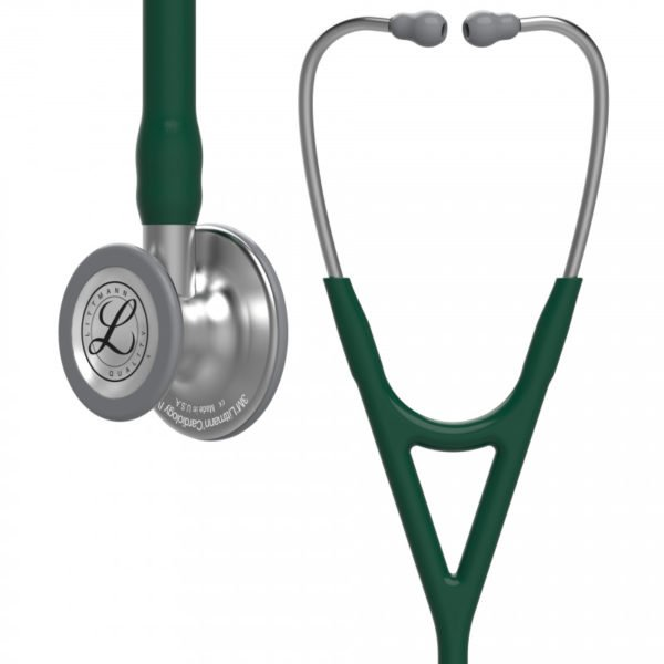 Littmann® Cardiology IV, темно-зеленая трубка, 69 см, стальная акустическая головка