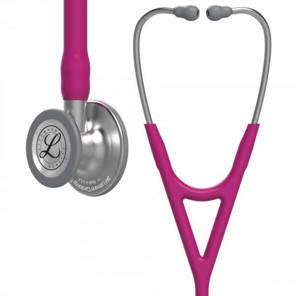 Littmann® Cardiology IV, малиновая трубка, 69 см, стальная акустическая головка