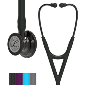 Littmann® Cardiology IV, черная трубка, 69 см, дымчатая акустическая головка
