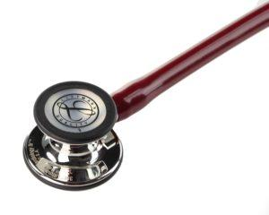 Littmann® Cardiology IV трубка цвета бургунди, 69 см, зеркальная акустическая головка