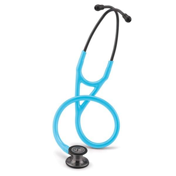 Littmann® Cardiology IV бирюзовая трубка, 69 см, дымчатая акустическая головка