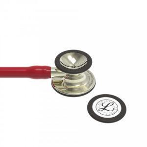 Littmann® Cardiology IV трубка цвета бургунди, 69 см, акустическая головка цвета шампанского