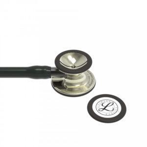 Littmann® Cardiology IV черная трубка, 69 см, акустическая головка цвета шампанского