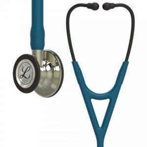 Littmann® Cardiology IV трубка цвета морской волны, 69 см, акустическая головка цвета шампанского