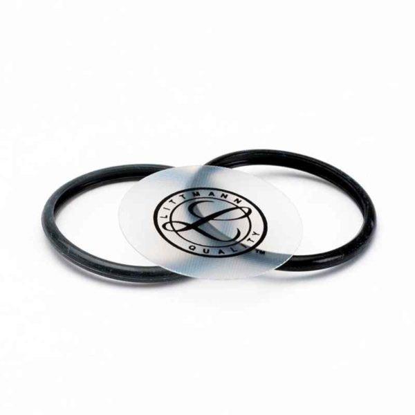 Набор запасных частей для стетоскопов Littmann Classic II Infant (диафрагма, обод), цвет черный 40013